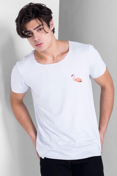 Camiseta-Canoa-Flamingo