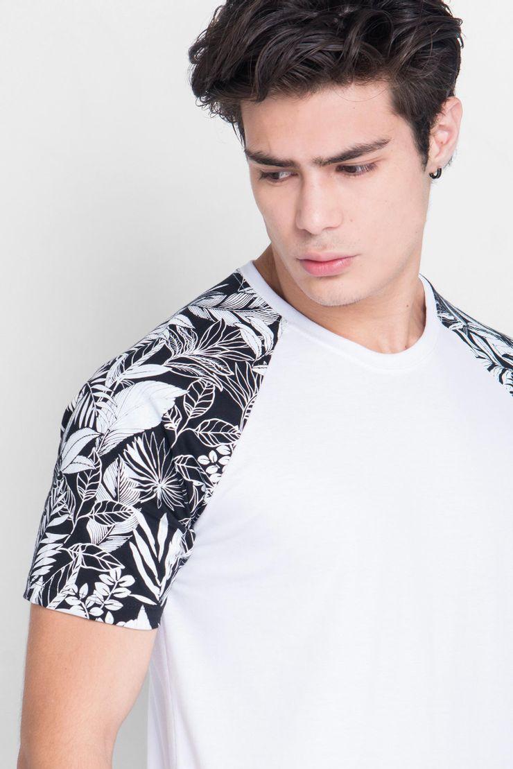 Camiseta-Raglan-Floral