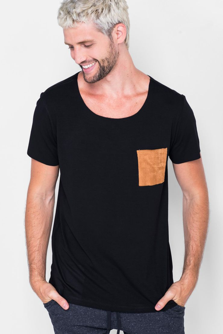 Camiseta-Canoa-Caramel-Pocket