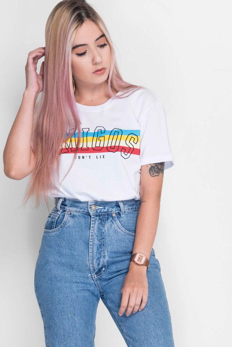 Camiseta-Long-Amigos