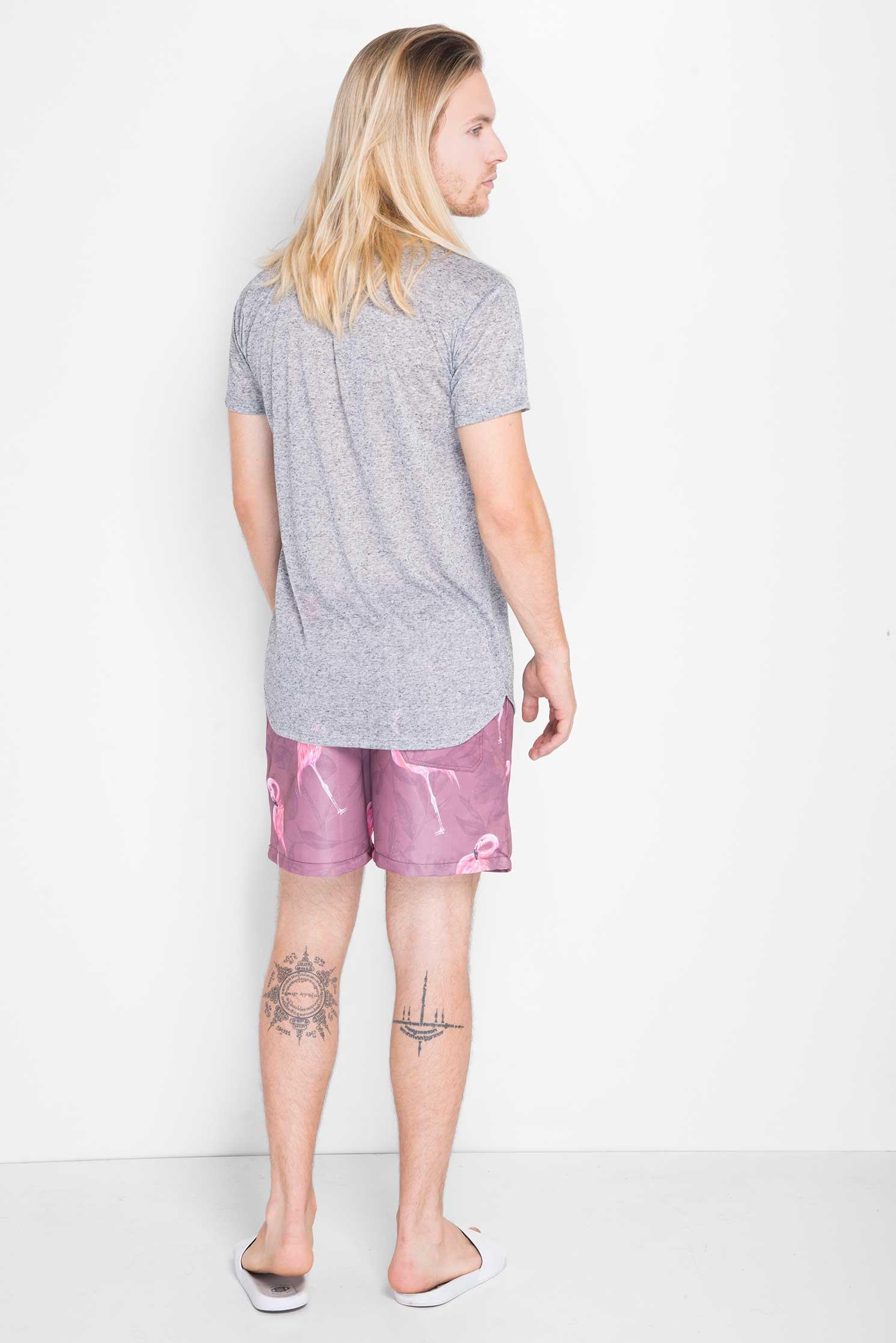 Shorts-Flamingo