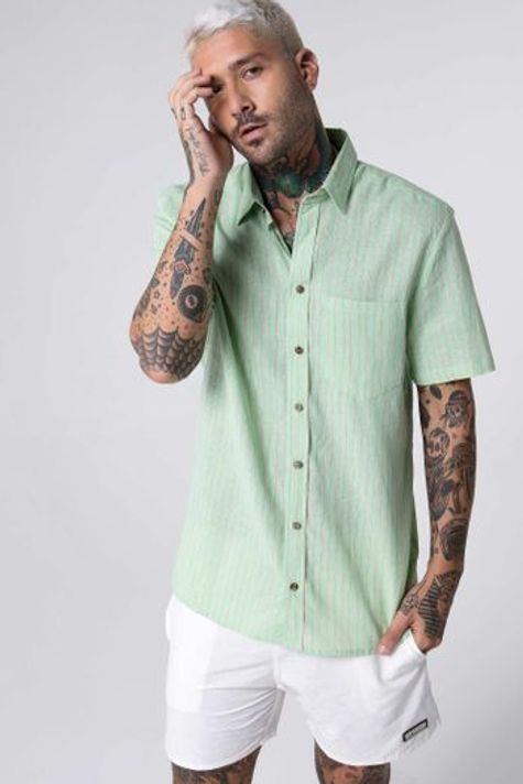 camisa-green-lines