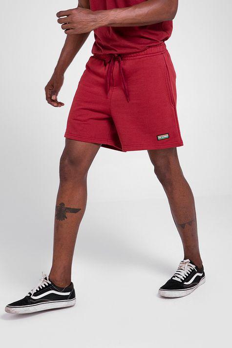shorts-burgundy
