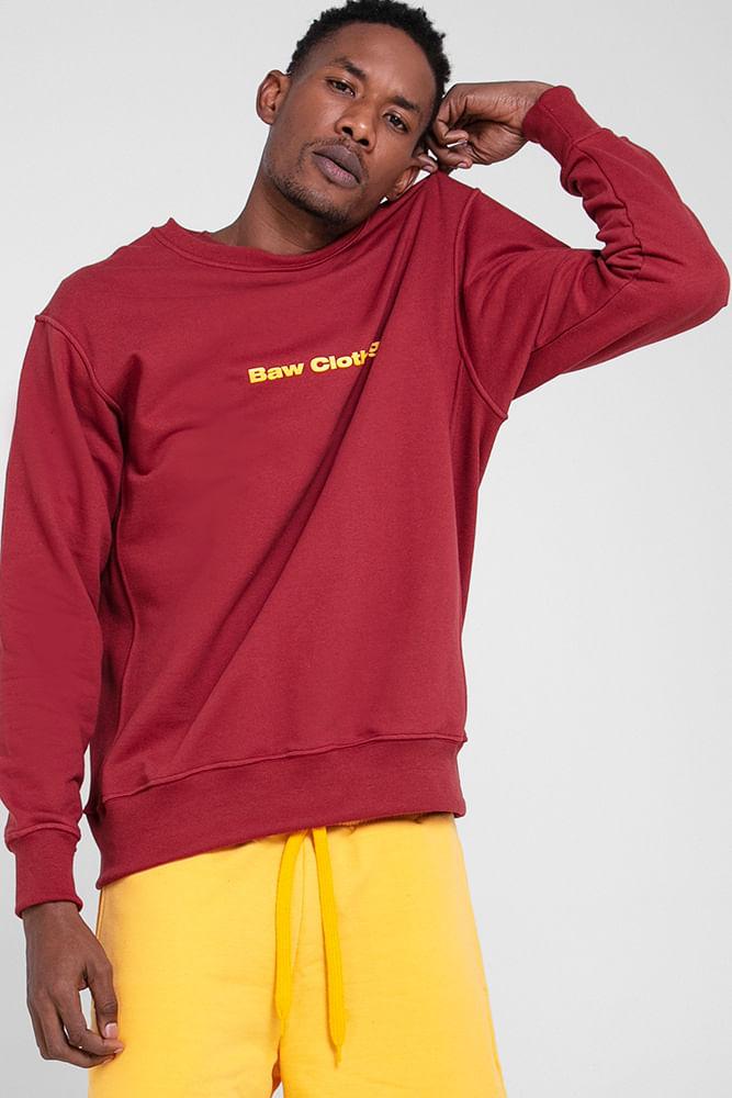Sweatshirt-Logo-Burgundy